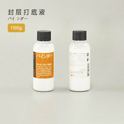 Foundation Binder Dye Fastener & Leather Lacquer Primer LeatherMob Seiwa Leather