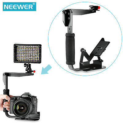 Neewer Multi-Angle Quick Flip Off Camera Flash Bracket for Canon Nikon Sony
