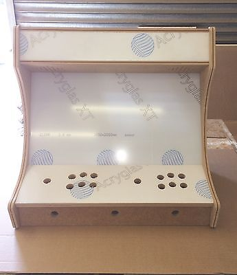 Bartop Arcade 18Mm Widescreen With Screen Marquee And Control Perspex