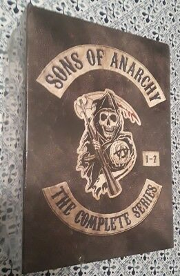 Authentic Set Sons of Anarchy The Complete Series Brand New Sealed DVD 1-7