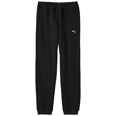 Puma Tracksuit Bottoms Eat Sweat Pant Closed Kids Young Black