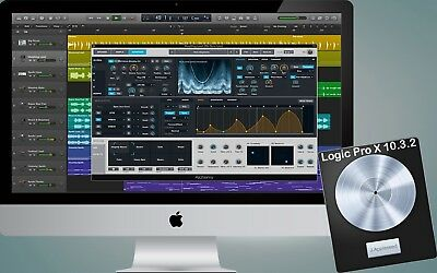 Apple's Logic Pro X 10.3.2 - 100% GENUINE from App Store - Download only