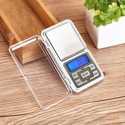 Pocket Digital Jewellery Scale Weight 200/500g x 0.1g 0.01g Balance Precise EH