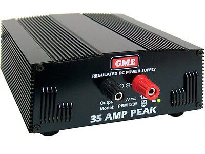 GME PSM1235 30A Continuous 240V 13.8V Switch Mode DC Power Supply RRP $479