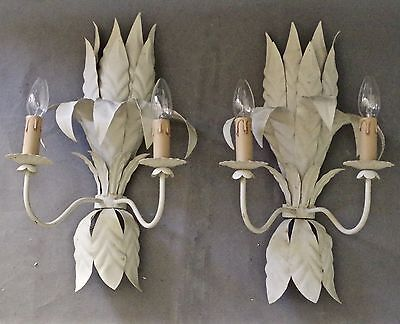 1960s APPLIQUES/  WALL LIGHTS / SCONCES (2nd PAIR AVAILABLE)
