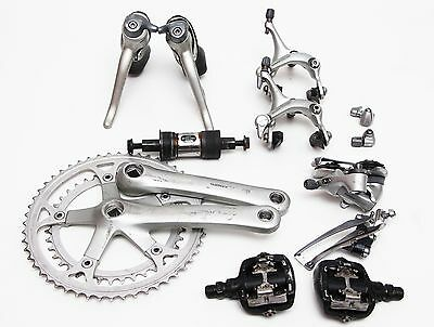 Gruppo Shimano 105 8 velocità - 8 speed syncro shifters vintage groupset