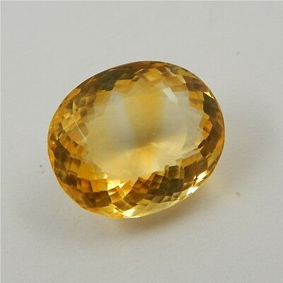27.7 cts Natural Yellow Citrine Gemstone Beautiful Loose Cut Faceted R#260-13