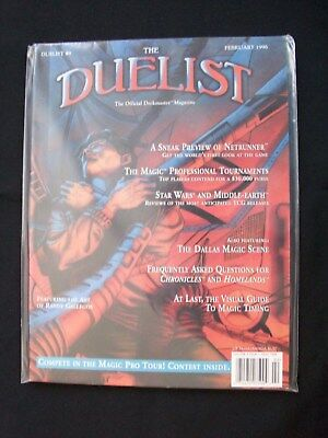The Duelist 3 1 Magazine # 9 Febuary 1996 Official Deckmaster Mint Unread Usa Ed
