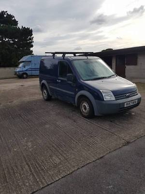 57 Plate Ford Transit Connect T200 L75 Diesel Van 2 Owners All Mots Some History