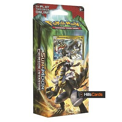 Pokemon Cards Sun & Moon Crimson Invasion: Clanging Thunder (Kommo-o) Theme Deck