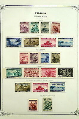 Poland 1941-1945  London  Issues Complete  Mlh *