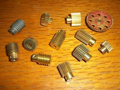 Meccano Job Lot Gears pack of 12