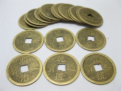 100 Chinese Fengshui Auspicious I Ching Coins 38mm