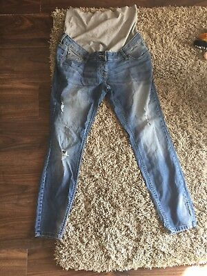 Size 14 Next Maternity Over The Bump Jeans