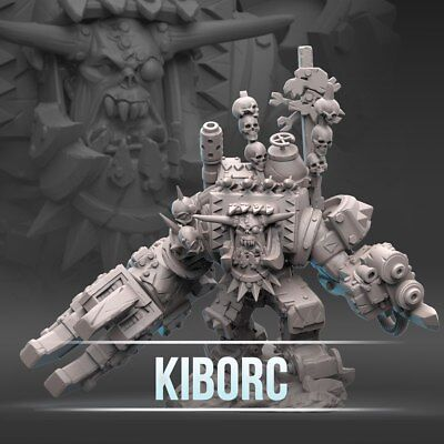 "28mm wargaming and collectible miniature, Kiborc by ""W"" Artel"
