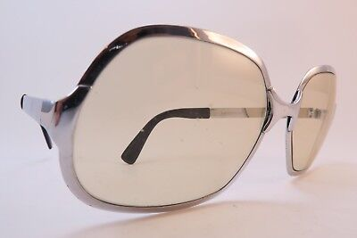 Vintage 70s sunglasses stainless steel Rodenstock Mod BELLUNO glass lens Germany