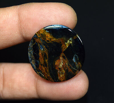 17.85 Cts. 100 % Natural Chatoyant Pietersite Round Cabochon Loose Gemstones