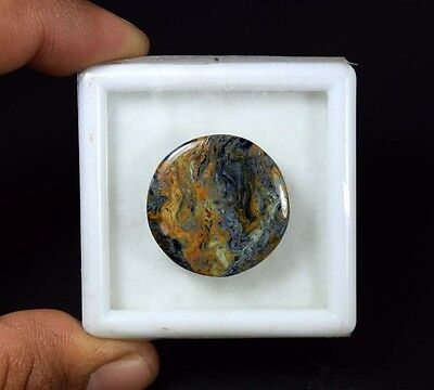 19.15 Cts. 100% Natural Chatoyant Pietersite Round Cabochon Untreated Loose Gems
