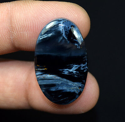 28.00 Cts. 100 % Natural Chatoyant Pietersite Oval Cabochon Loose Gemstones