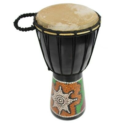 A-Star 6 inch Painted Djembe
