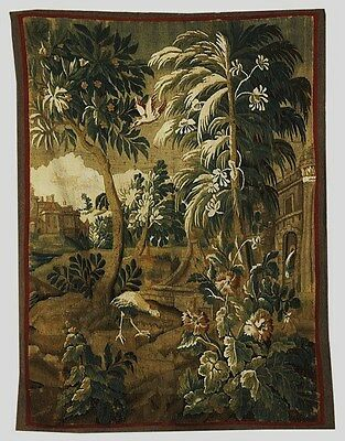 Antique Bbrussels Hand Woven Tapestry