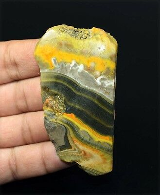 178.35 Cts. 100 % Natural Indonesian Bumble Bee Rough Slice For Making Cabochons