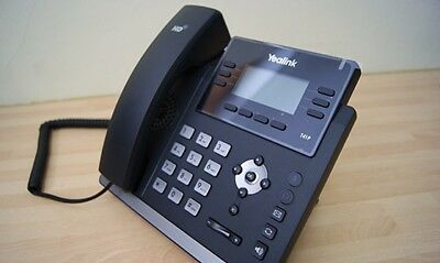 YEALINK-T41S IP Phone - VOIP IP Phone - Perfect for home office - 3 months old