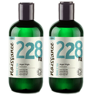 Naissance Wholesale Organic Moroccan Argan Oil 100% Pure 500ml (2 x 250ml)