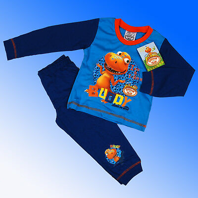 Boys Authentic Dinosaur Train Pyjamas Age 2 Years 18-24 Months 92 cm SALE
