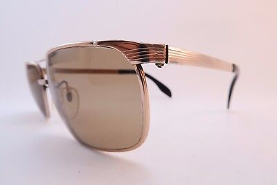 Vintage late 50s early 60s gold filled sunglasses 20/000 Germany men's medium