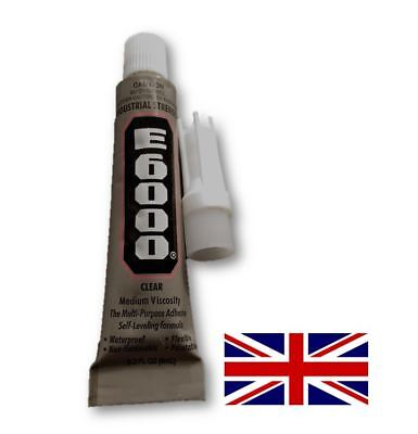 E-6000 Industrial Strength Flexible Glue Adhesive for Fabric, Crafts, etc