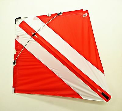 PETER POWELL Dual Line Stunt Kite MKIII RED-WHITE Adults Kids Outdoor Sport Toy