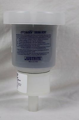 JUSTRITE 28207 Aerovent Drum Vent with 3/4 In. Adapter