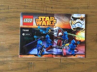 Lego Star Wars 75088 -  Building Instructions Booklet Only