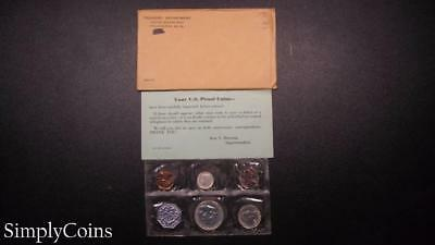 1959 Proof Set ~ Original Envelope With COA ~ US Mint Silver Coin Lot SKU-564