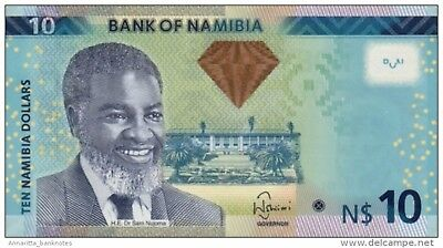 Pick 10b Imported From Abroad Namibia 200 Dollars 2003 Unc