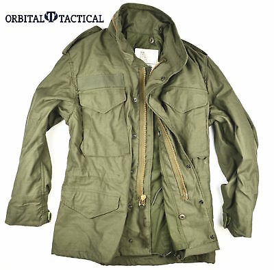New Alpha Industries Olive Drab OG 107 Field Jacket M65 DATE 1978 SS SMALL SHORT
