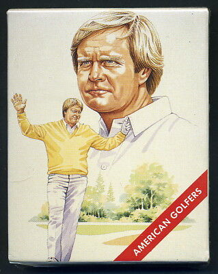 AMERICAN GOLFERS Collectors Card Set of 20 - Nicklaus Palmer Couples Trevino etc