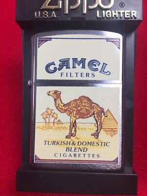 Camel Classic Design 1985 Like Z7 Z8 Rare Zippo Lighter