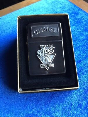 1993 Smokin' Joe's Racing Emblem Joe Camel Zippo Lighter