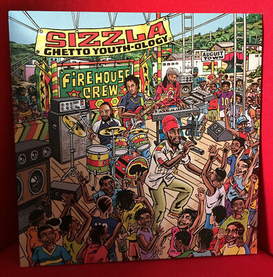 Sizzla - Ghetto Youth - ology LP