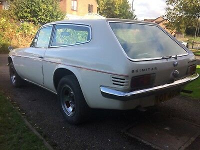 Reliant scimitar Gte manual overdrive 1974 easy project restoration ford v6