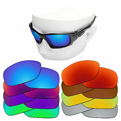 OOWLIT Iridium Replacement Lenses for-Oakley Ten X Sunglasses Polarized
