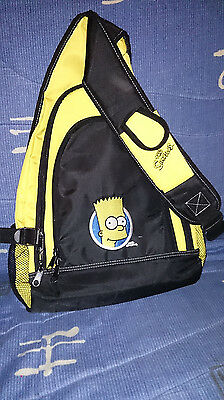 Sac à dos Bart Simpson Collector Neuf Brodé