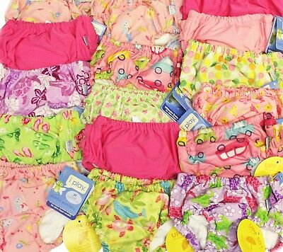 NEW 3 I Play Baby Girl Infant Ultimate Swim Diapers UPF 50+ Size 4T 4, 38-46 lbs
