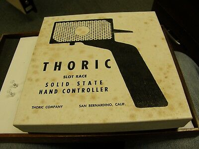 Thoric Solid State Hand Controller - In Original Box - 1960's Slot Car