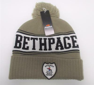 New Adult Bethpage Black Golf Course  acrylic toque knit cap beanie by Pukka
