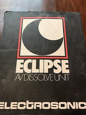 Eclipse Electrosonic 450 vintage slide projector dissolve unit 24v