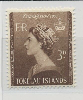 Tokelau Islands 1953 Coronation Issue  MNH / **