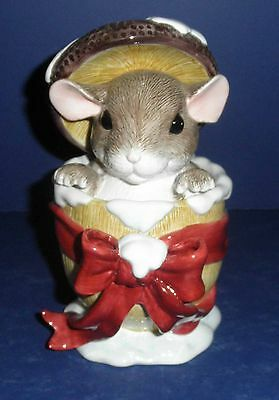 Fitz & Floyd Charming Tail- Day Dreamer Trinket Box- New in Box- 93/506- Ceramic